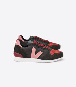 HOLIDAY LOW TOP B-MESH - TILAPIA GRAFITE GRAFITE BLUSH - Veja