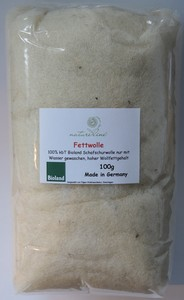 Fettwolle 100g Bioland-Qualität - Natureline