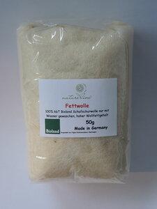 Fettwolle 50g Bioland-Qualität - Natureline