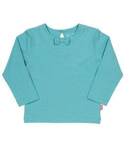 Baby u. Kinder Langarmshirt hellblau  ökologisch - Kite