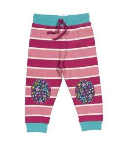 Mädchen Hose pink mit Knieschoner   ökologisch - Kite