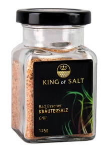 King of Salt Kräutersalz Grill, 125g - King of Salt