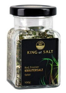 King of Salt Kräutersalz Salat, 100g - King of Salt