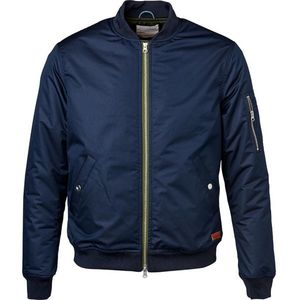 Functional Bomber Jacket - Total Eclipse - KnowledgeCotton Apparel
