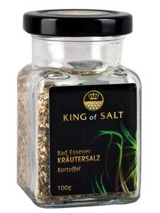 King of Salt Kräutersalz Kartoffel, 100g - King of Salt