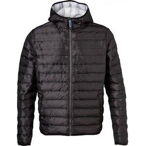Polyester Jacket w/polyester filling - Phantom - KnowledgeCotton Apparel