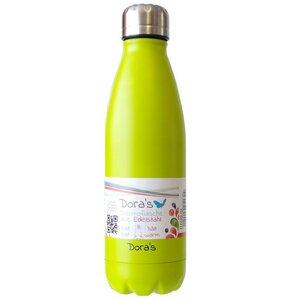 Edelstahlflasche in grün - Dora