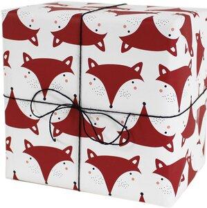 Recycling-Geschenkpapier Fuchs - ava&yves