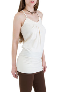 Top Tunic Zada off white - Ajna