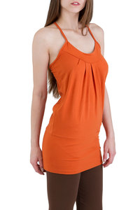 Top Tunic Zada orange-terra - Ajna