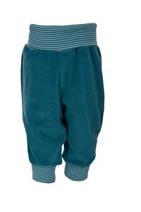 Baby-Frotteehose - blau - People Wear Organic