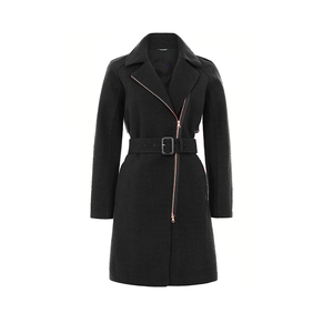 Coat Hutton - Black - LangerChen
