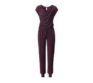 Jumpsuit in Kastanie - Curare