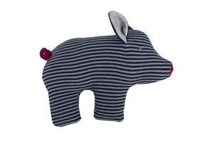 Schwein - helles grau geringelt - People Wear Organic