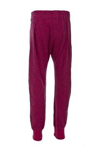 Hose - pink gemustert - People Wear Organic