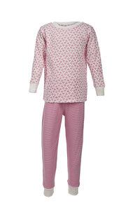 Pyjama - weiß gemustert - People Wear Organic