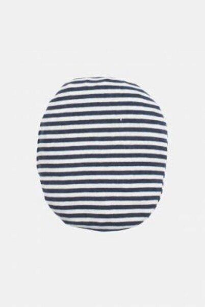 Extra Wollsäckchen Blau Geringelt 17cm Bio Baumwolle