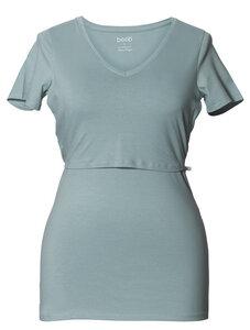 2 in 1 Stillshirt Umstandsshirt V-Ausschnitt aktuelle Farben Herbst 16 - Boob