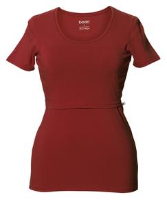 2 in 1 Stilshirt und Umstandsshirt in einem mit Rundhals Farben 2016 - Boob