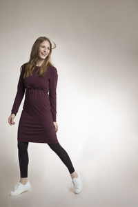 'B-Warmer-Dress' Kuscheliges 2 in 1 Stillkleid und Umstandskleid - Boob