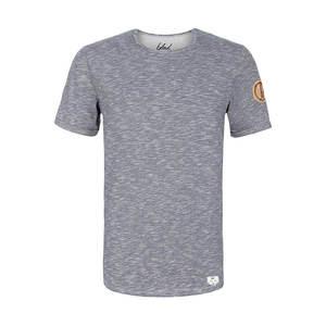 Flamé Streifen T-Shirt blau - bleed