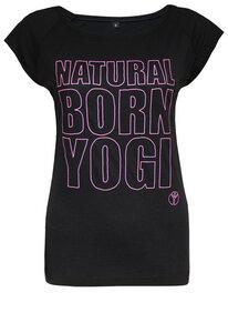 T-Shirt Natural Born Yogi - Natural Born Yogi