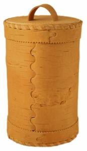 Familiendose aus natürlicher Birkenrinde - sagaan