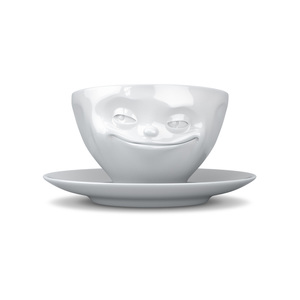 Dreidimensionale Porzellan Tasse - FIFTYEIGHT PRODUCTS
