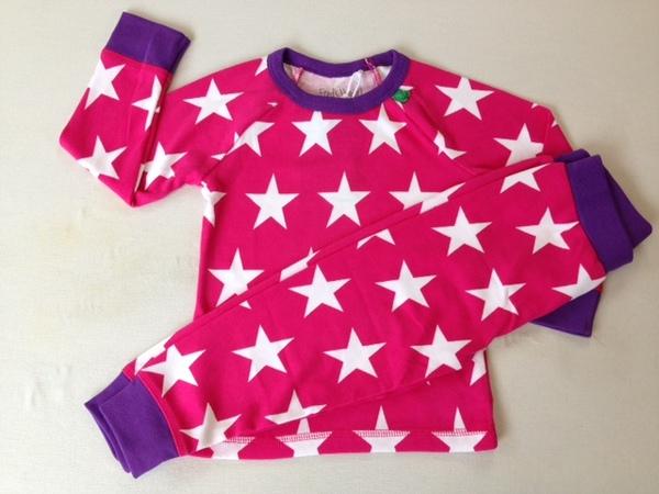 premium selection 3cb55 d26c0 Green Cotton - Pyjama Sterne pink | Avocadostore