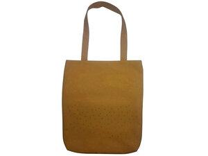Schultertasche Gelbe Punkte, Upcycling von Leesha - Leesha