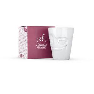 Verschmitzer Porzellanbecher mit Henkel - FIFTYEIGHT PRODUCTS