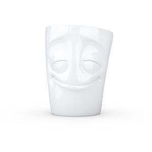 Vergnügter Porzellan Becher mit Henkel - FIFTYEIGHT PRODUCTS