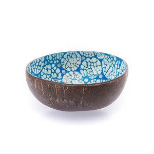 Perlmutt-Ei-Kokosnuss-Schale - Blau - Bea Mely