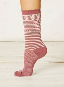 Aylon Socks-Rose - Braintree