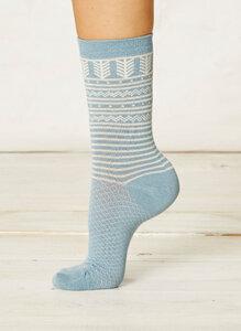 Aylon Socks-Cloud Blue - Braintree