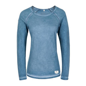 Cold Sweater Ladies Blau - bleed