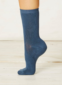 Solid Jackie Socks-Denim - Thought | Braintree