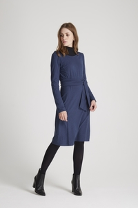 Adina Dress - Blue Melange - People Tree