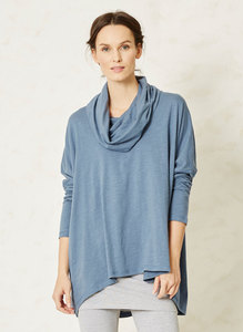 Tomoko Top-China Blue - Thought | Braintree