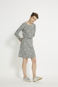 Aleta Dress - Grey Melange - People Tree