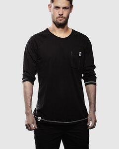 Baseballshirt BlackBack - Vresh