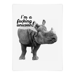 I´m a fucking unicorn - Poster - What about Tee