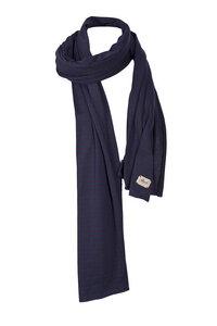 Schal-Violett geringelt  - People Wear Organic