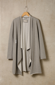 Baumwoll Cardigan - Grey - Madness