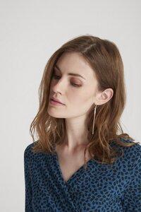 Minimal Drop Earrings - Silver - People Tree