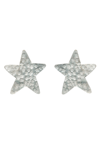 Star Stud Earrings - Silver - People Tree