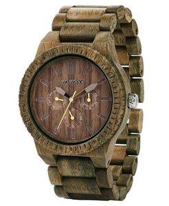 Holz-Armbanduhr KAPPA ARMY | 100% hautverträglich - Wewood