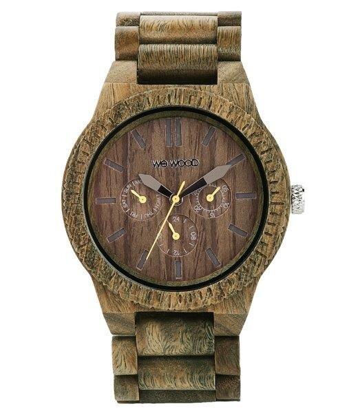 wewood holz armbanduhr kappa army 100 hautvertr glich. Black Bedroom Furniture Sets. Home Design Ideas