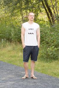 sat nam yoga shirt - WarglBlarg!