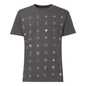 ThokkThokk Secret T-Shirt Creme/Castlerock - THOKKTHOKK